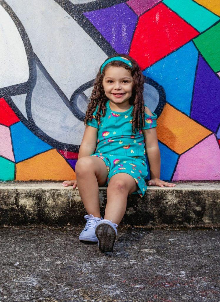 bastidores dos ensaios fotográficos das suas filhas Letícia Assis e Alícia Assis