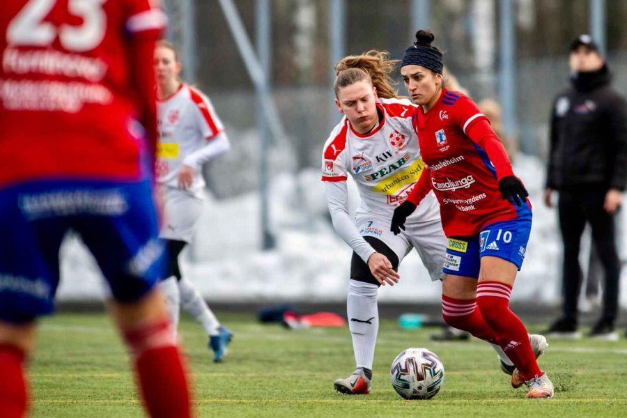 Fernanda Caroline e o campeonato sueco